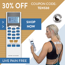 Get 30% OFF Touch Screen TENS Units this August with coupon code: TENS30!