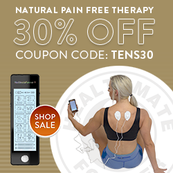 We are having our August Deals now! Use Coupon Code: TENS30 to save 30% on ALL TENS Units.