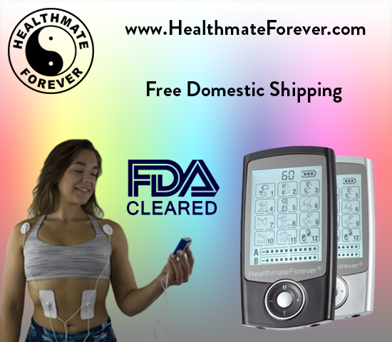HealthmateForever FDA Cleared Free Domestic Shipping, colorful, model shop button