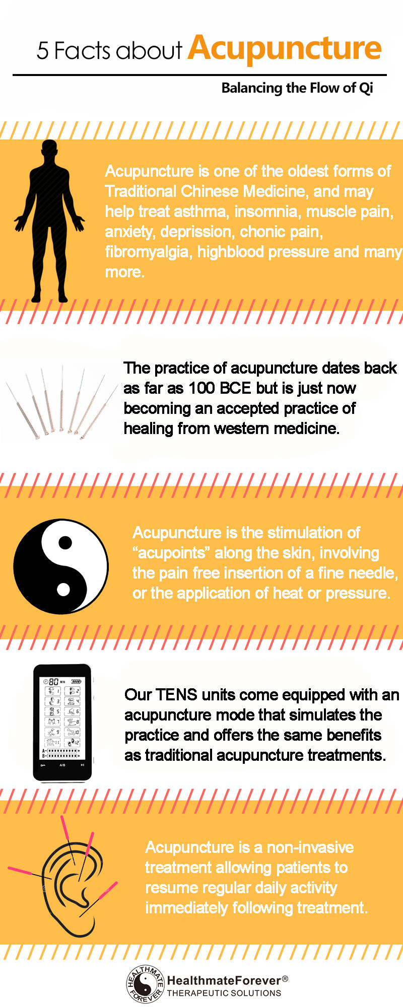 5 Facts about Acupunture