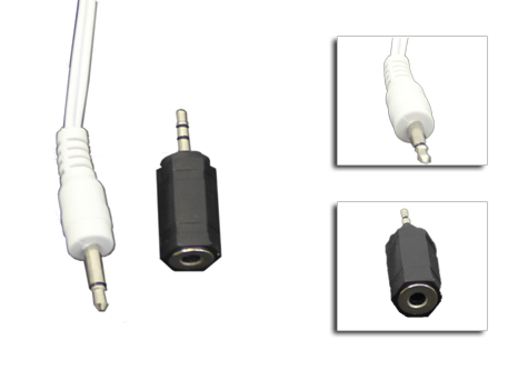 Adapter for 2.5/3.5mm output/input for TENS Unit | HealthmateForever