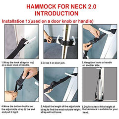 CLEARANCE The Neck Hammock 2.0 - The Original Portable Cervical Traction and Relaxation Device