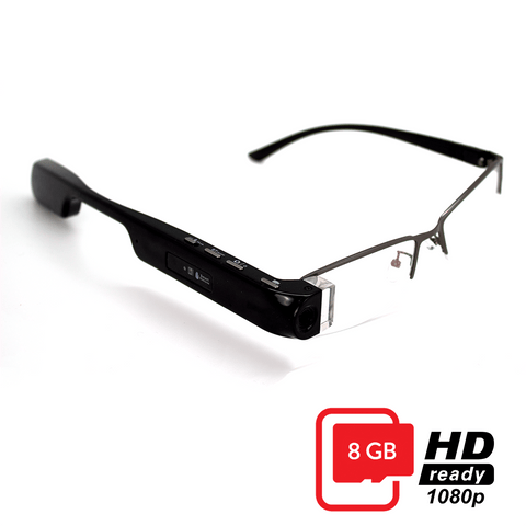 DigiOptix 1080P HD 8G CAMERA GLASSES  MOTUS SMART GLASSES