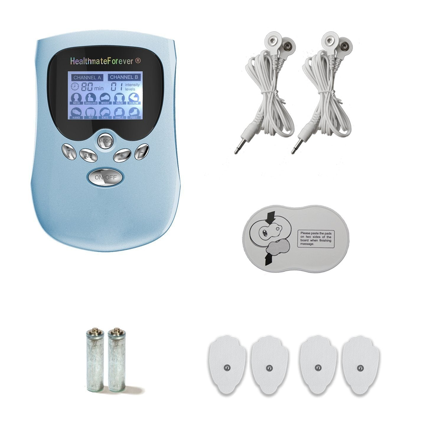 CLEARANCE PM10AB 1ST EDITION HealthmateForever TENS Unit & Muscle Stimulator