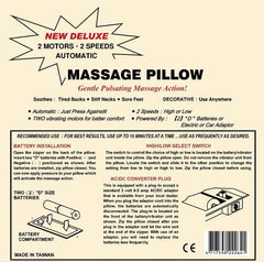 CLEARANCE Pressure Activated Massage Pillow Beige