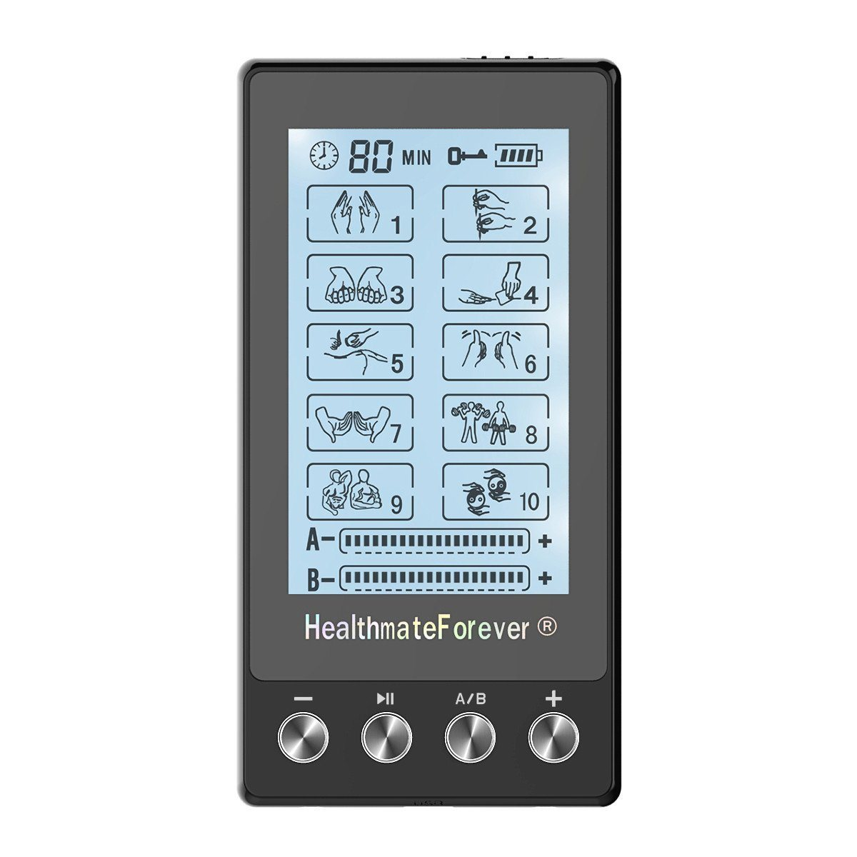 CLEARANCE Touch Screen TS10AB HealthmateForever TENS Unit & Muscle Stimulator