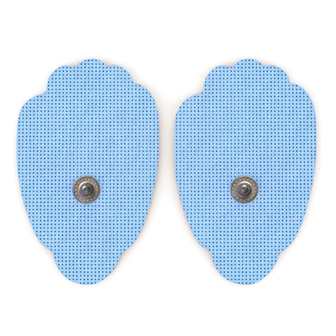 Pair of Snap-On Blue Large Hand-Shaped Pads