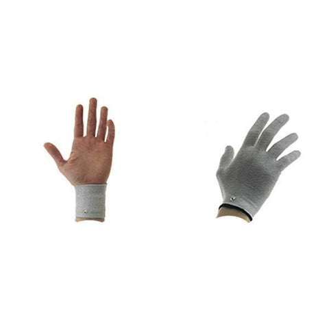 Conductive Gloves and Wrist Bands Combo