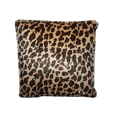 CLEARANCE Pressure Activated Massage Pillow Big Leopard