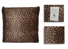 CLEARANCE Pressure Activated Massage Pillow Small Leopard
