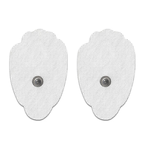 Pair of Snap-On White Large Hand-Shaped Pads