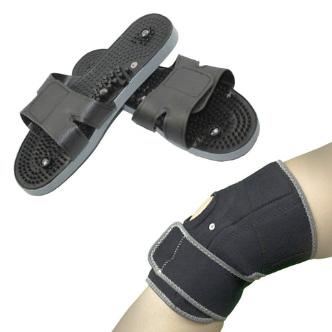 Conductive Leg Support+Massage Shoes