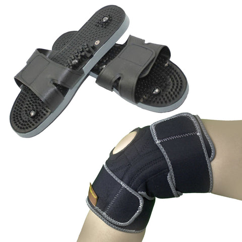 Conductive Knee Support+Massage Shoes