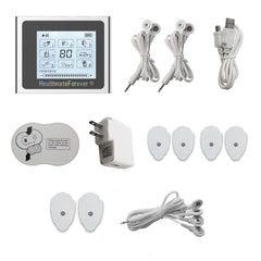 CLEARANCE NTS8 HealthmateForever TENS Unit & Muscle Stimulator with Free Wrist Band