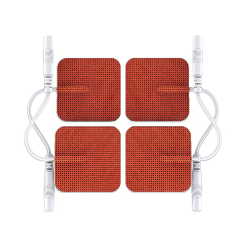 FLASH SALE Pin-Inserted Red Square-Shaped Pads
