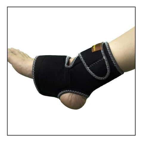 Conductive Ankle Brace / Support / Wrap, stretchable and adjustable