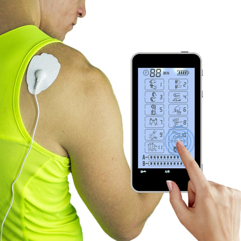 T12AB -HealthmateForever Touch Screen TENS Unit & Muscle Stimulator