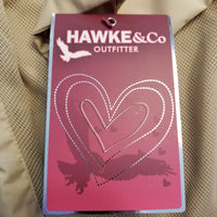 Hawke & Co. Girl's Lightweight Hooded Anorak Weather Resistant Jacket in Safari