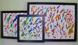 Three Sizes of Framed Paintings