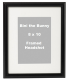 Headshot Photo with Logo (Now available framed)