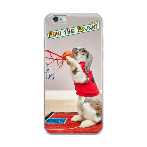 Bini the Bunny Classic Basketball iPhone Case