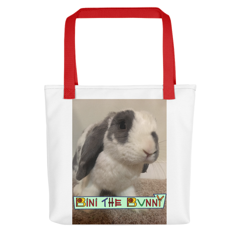 Bini the Bunny Official Tote bag
