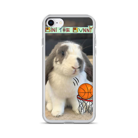 Bini the Bunny Ultimate Basketball iPhone Case