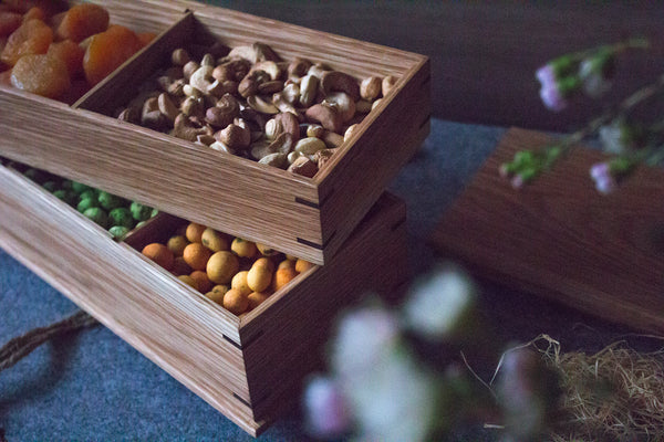 White Oak Confectionary Box
