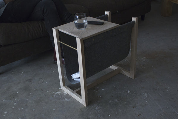 Side Table x Magazine Rack Workshop