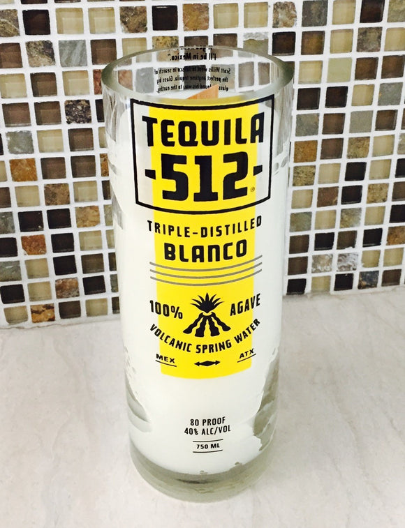 Tequila 512 Candle