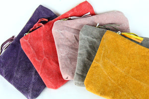 Canvas Pouch by Creative Coop
