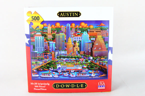 Austin Puzzle by Dowdle Folk Art