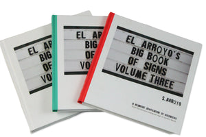 El Arroyo Book of Signs (3 Volumes)