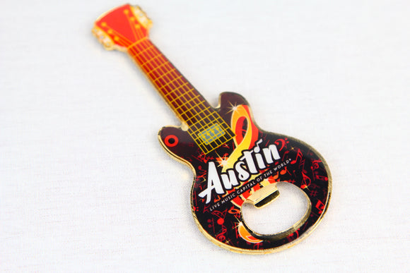 Guitar Magnet/Bottle Opener