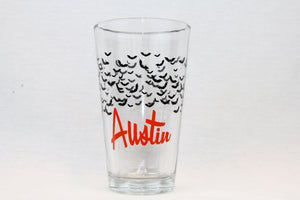 Austin Bat Pint Glass