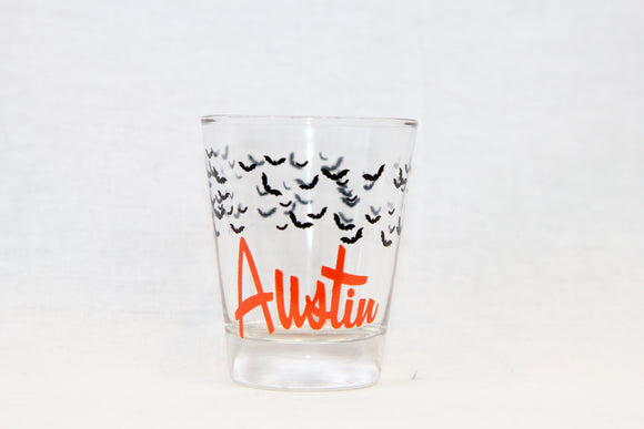Austin Bat Shot Glass