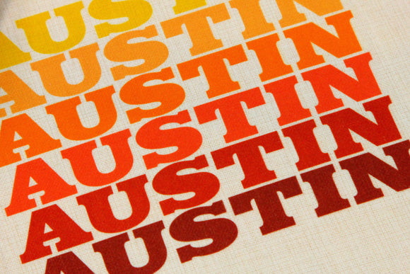 Austin Sunshine Tote Bag