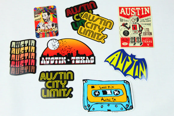 Austin Blanks Stickers