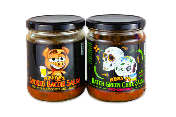Mikey V's Salsa ( two flavors )