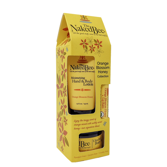 Naked Bee Orange Blossom Honey Collection