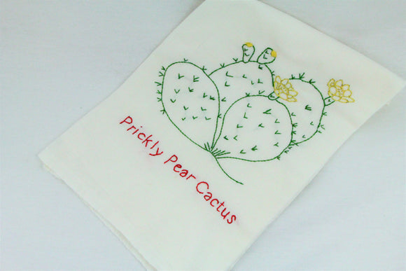 Prickly Pear Cactus Dish Towel