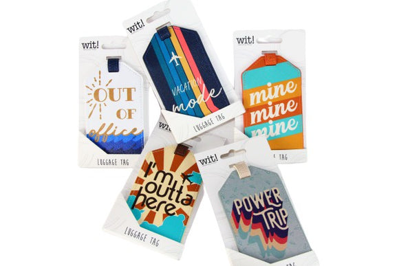 Luggage Tags by Wit