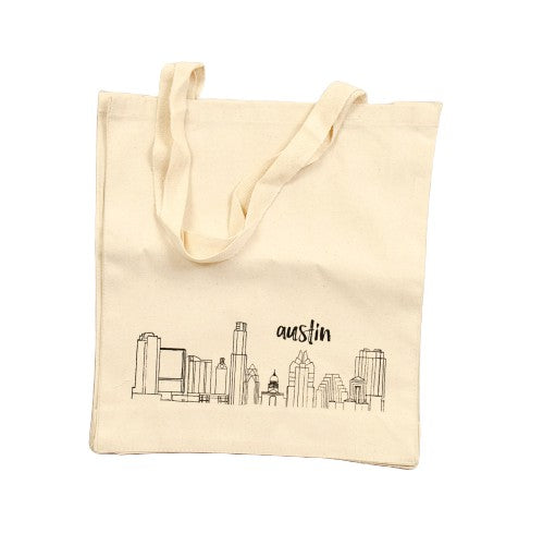 Austin Skyline Tote bag