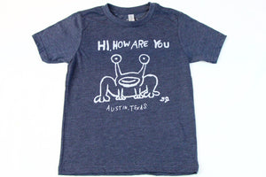 Hi How Are You Kids Tee by Austin Blanks