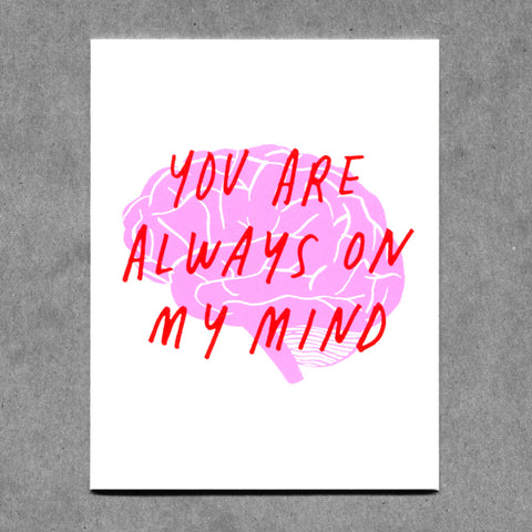 Always On My Mind Card
