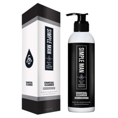 Simple Man CHARCOAL CLEANSER with Coconut Oil 6 oz