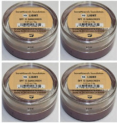 bareMinerals SPF 15 Original Foundation (2g)- 1G Light LOT OF 4 JARS