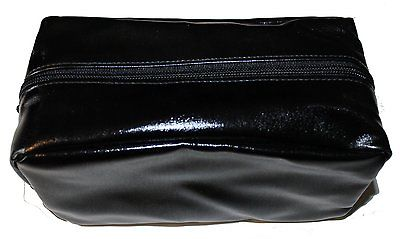 Bare Escentuals Shiny Black Rectangular Makeup Bag