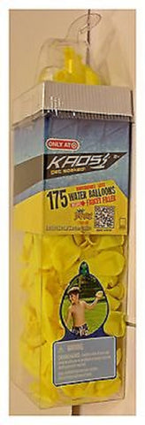Kads Get Soaked 175 YELLOW Water Balloons with Faucet Filler
