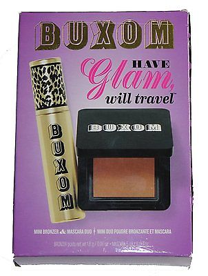 bareMinerals Buxom Have Glam Will Travel Mini Bronzer And Mascara Duo